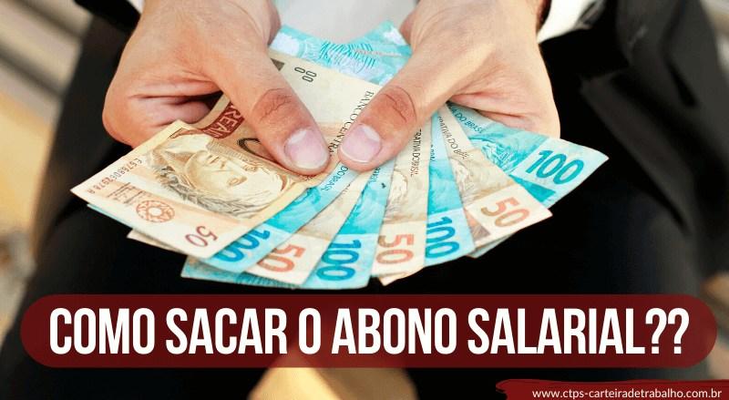 CTPS- COMO SACAR O ABONO SALARIAL