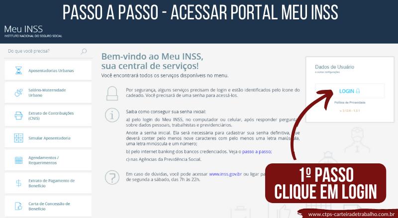 CTPs - Portal Meu INSS - Passo a Passo