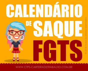 Calendário de Saque FGTS