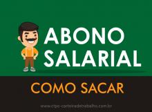 Como Sacar o Abono Salarial