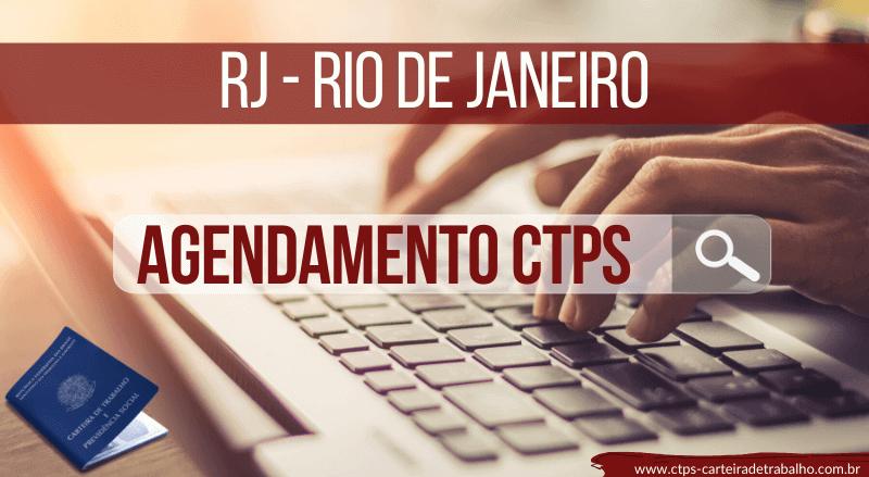 Agendamento Carteira de Trabalho RJ – Rio de Janeiro