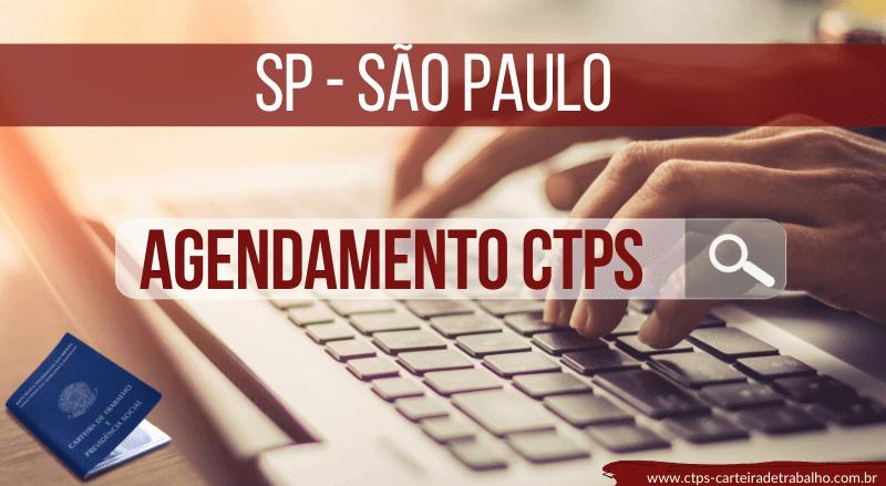 Agendamento Carteira de Trabalho SP – São Paulo