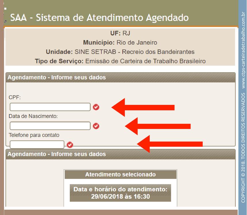 agendamento RJ 2