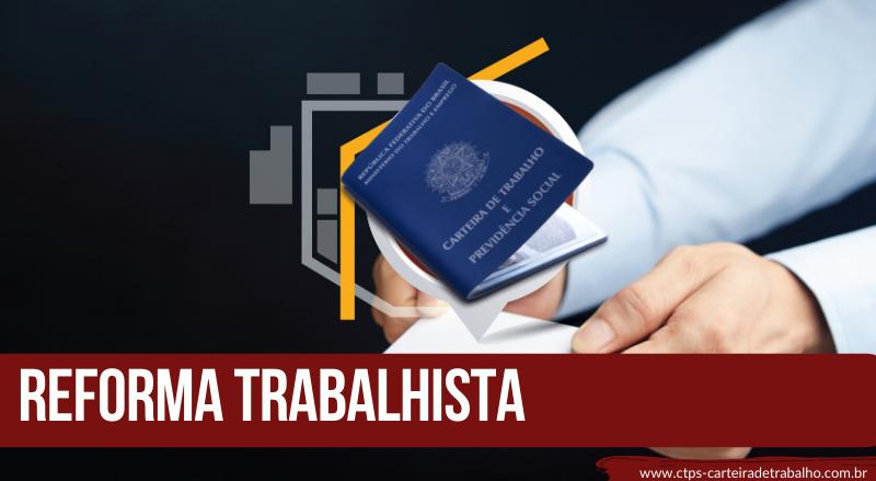 CTPS- REFORMA TRABALHISTA