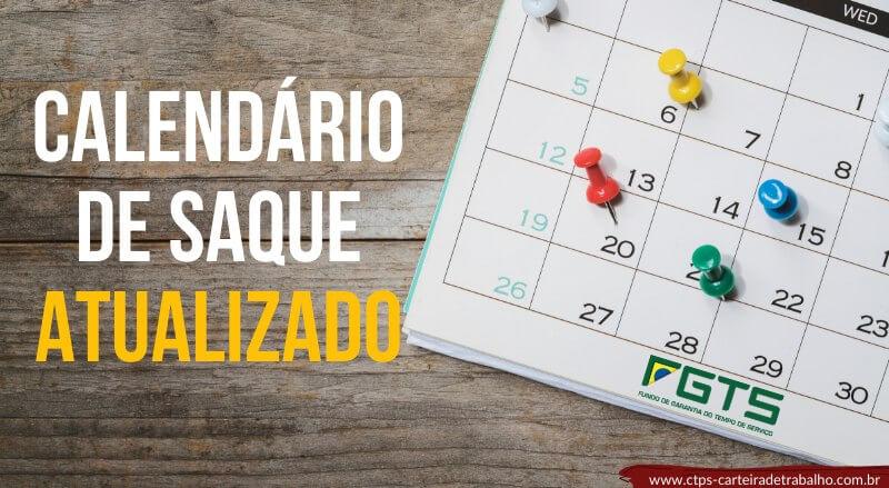 Calendário de Saque FGTS 2019 – Saque Antecipado!