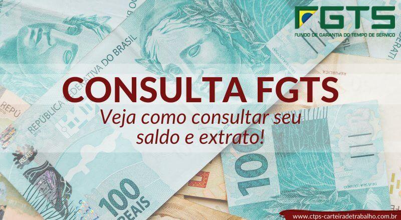 Consulta FGTS – Confira seu Saldo Agora – Saque Antecipado!