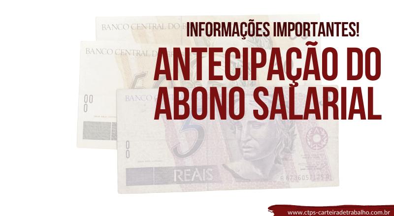 Antecipação do Abono Salarial – Saiba como Receber AGORA!