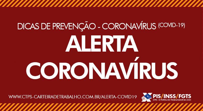 Alerta Coronavírus (COVID-19)