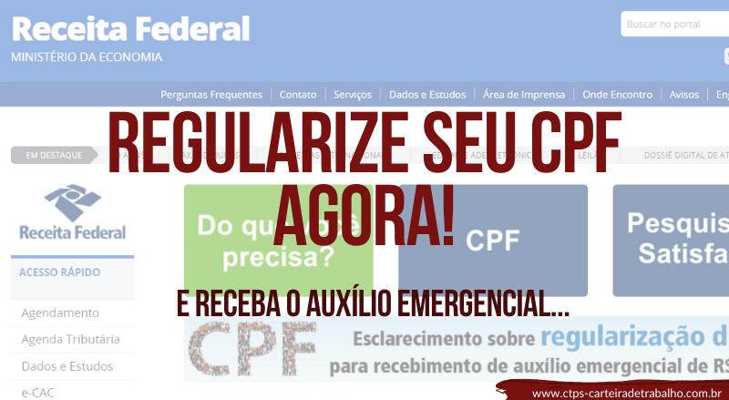 Saiba como Regularizar seu CPF AGORA!
