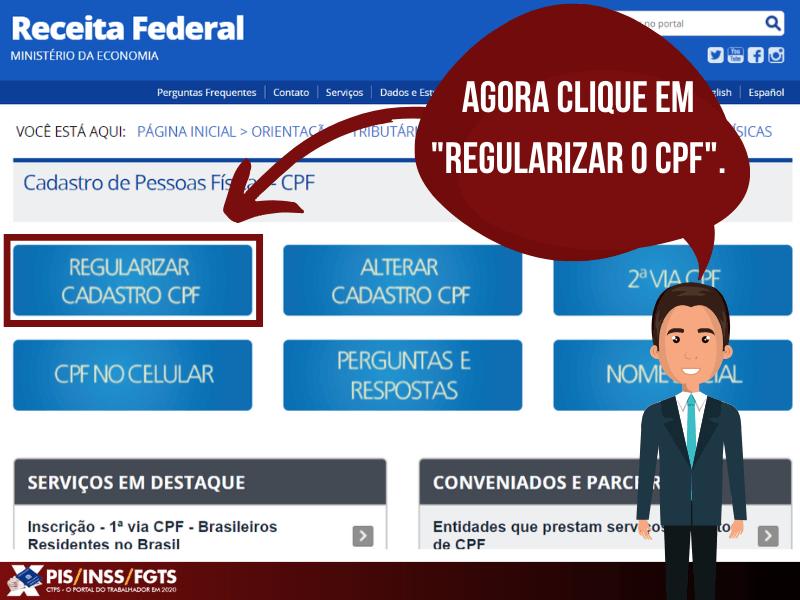 Regularizar SEU CPF