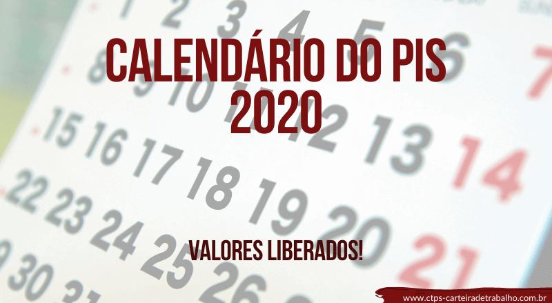 Calendário do PIS 2020/2021 ATUALIZADO – Consulte os Valores!