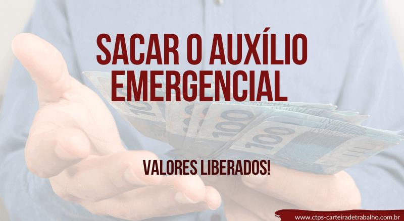 sacar o auxílio emergencial