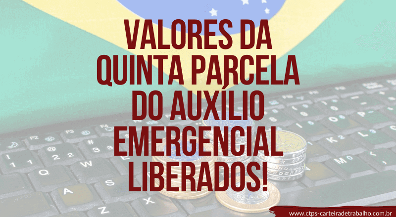 quinta parcela do auxílio emergencial