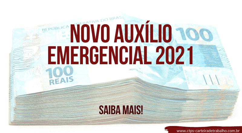 Saiba mais sobre o Novo Auxílio Emergencial 2021